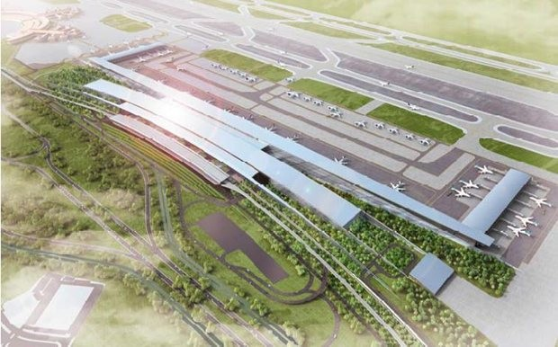 Woodhead designs new international airport for jakarta for International architecture and design