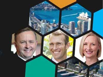 Panel discussion in Sydney on the future of cities