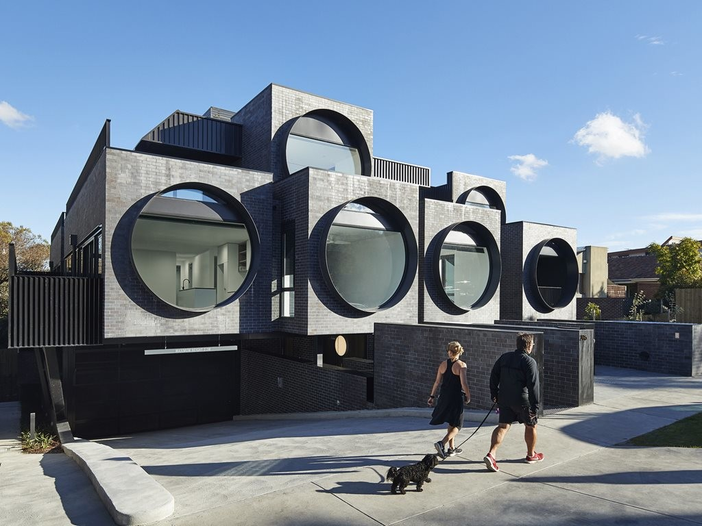 Apartments that feel like homes that look like architectural fish bowls