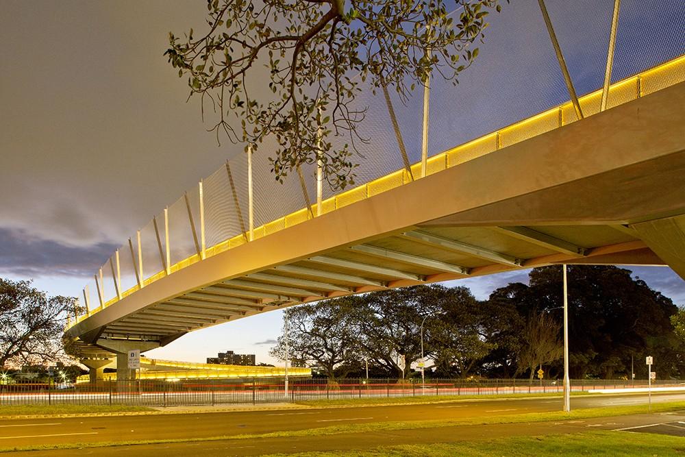 Albert Tibby Cotter Pedestrian Bridge Architecture And