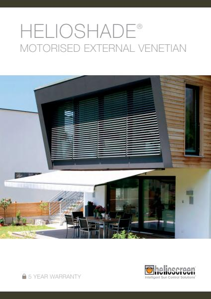 Helioshade Motorised External Venetian