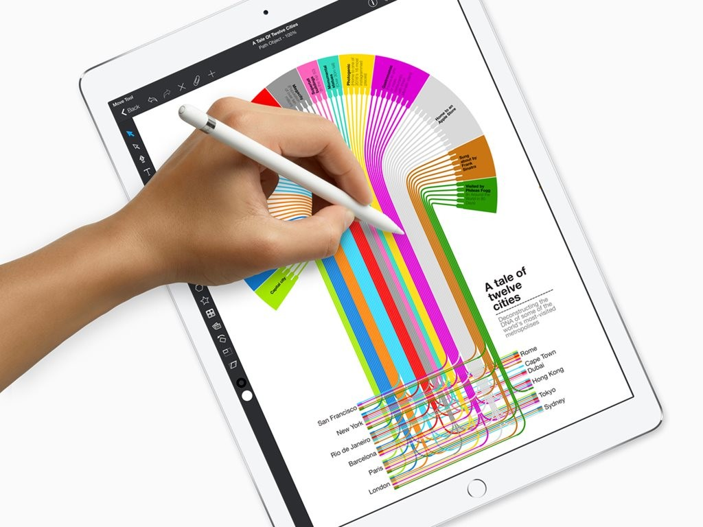 Upgraded apps help to make Apple's new iPad Pro more