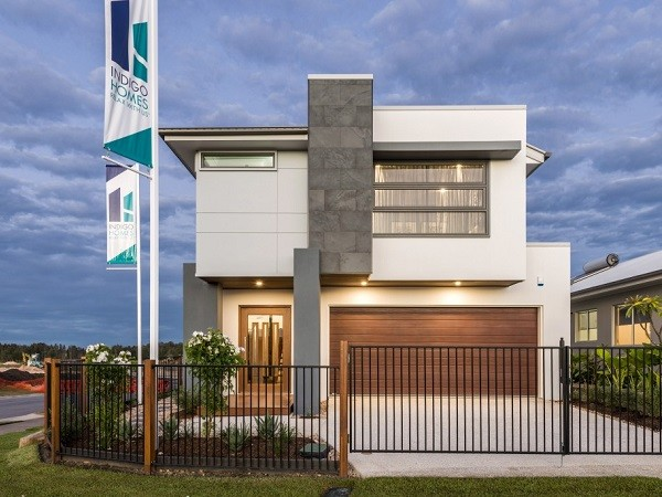 A Hebel house built by Indigo Homes