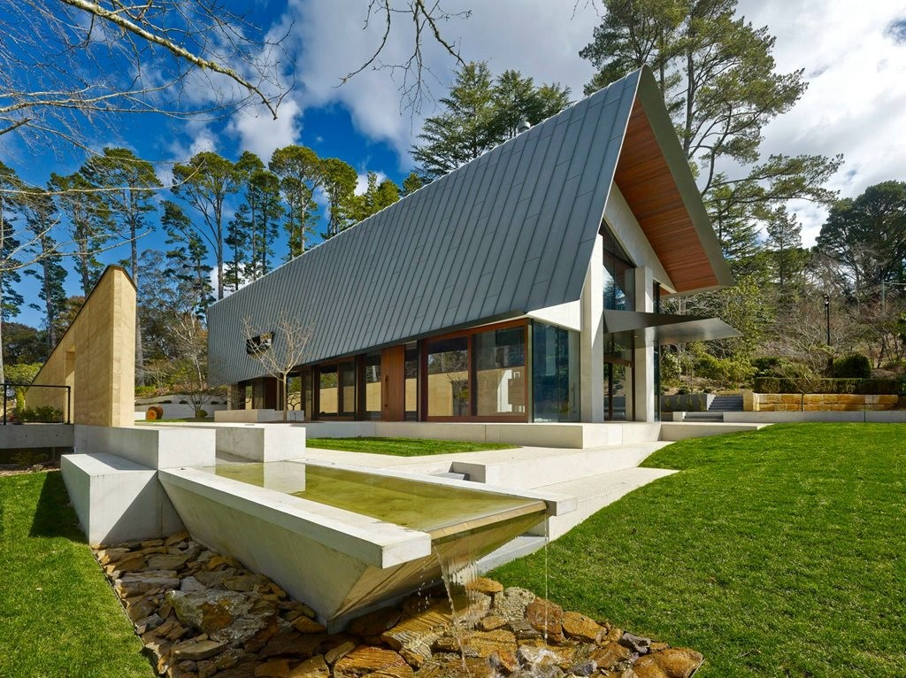 Pirramimma House By Peter Stutchbury Architecture Fits A