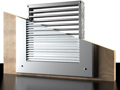 LVH intumescent air transfer grilles
