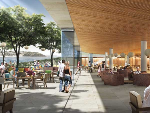 The proposed Harbord Diggers hospitality precinct