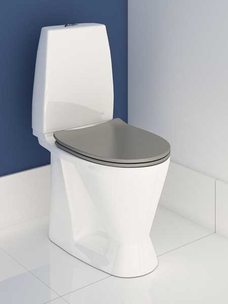 Enware's freestanding increased height WC