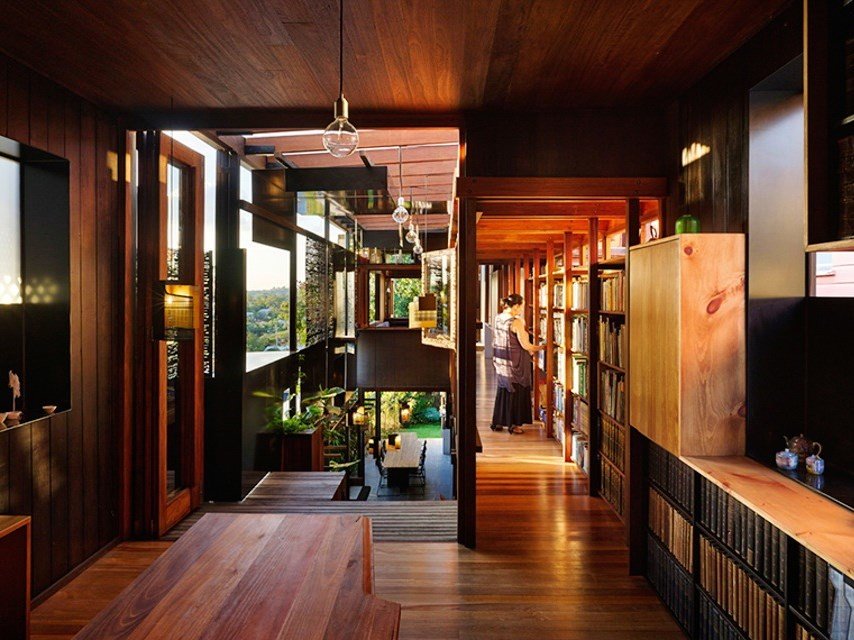 Left Over Space, Brisbane by Vallance Architects and Cox Rayner. Image: Brisbane Open House