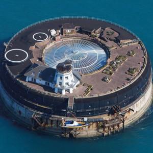 19th Century English Sea Fort Repurposed Into Luxury Hotel
