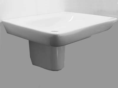 Kolo Nova Pro wall mounted 650mm wash basin