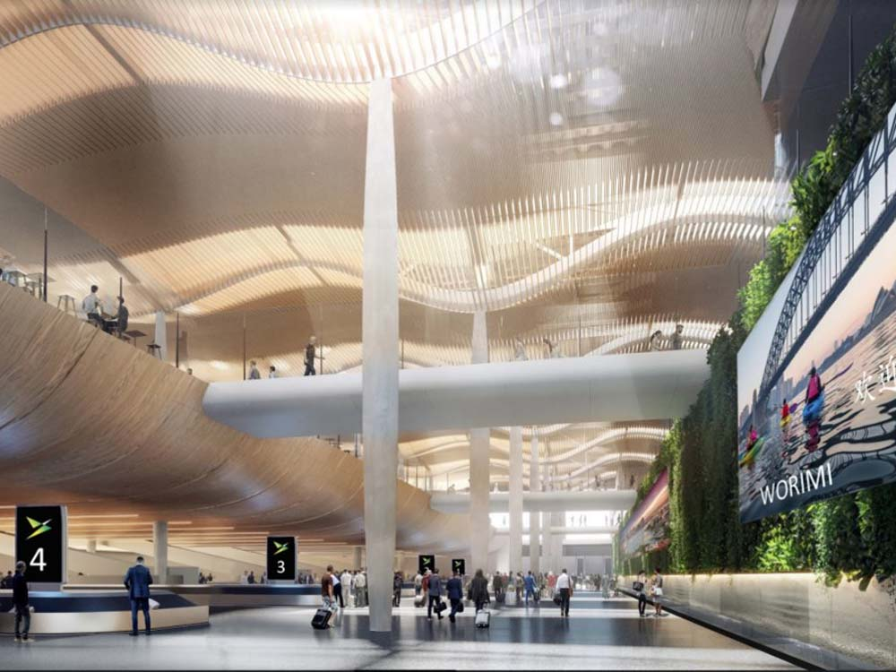 Zaha Hadid Cox Designs For New Western Sydney Airport