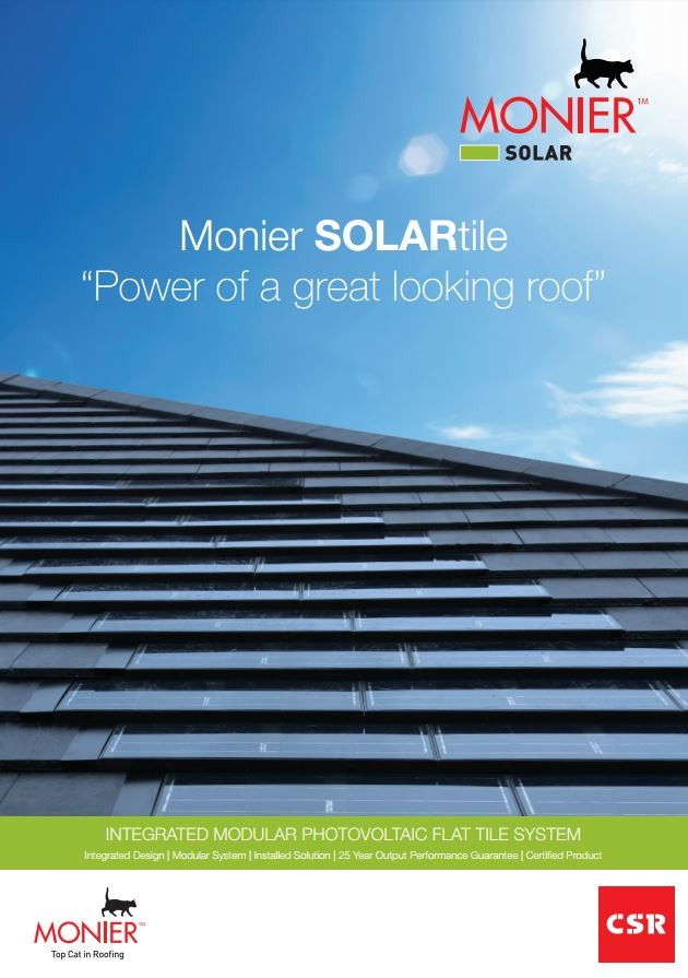 Monier Solartile The Power Of A Great Looking Roof