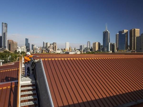 Margaret Court Arena Gets A Colorbond Steel Roof In Custom