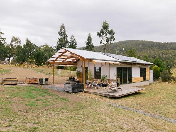 Tasmania utvendig av Apple Crate Shack