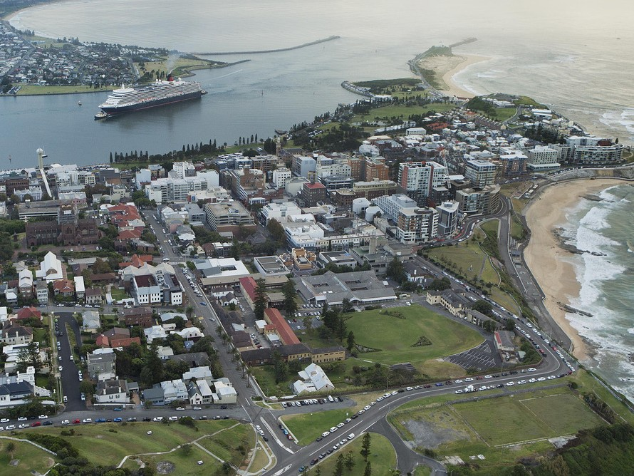 Australia's population is highly concentrated in a few cities, so once centres like Newcastle have absorbed the spill-over from high-cost capitals, where will the talent go? Image: City of Newcastle