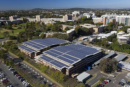 Massive Solar System Installed University Of Queensland