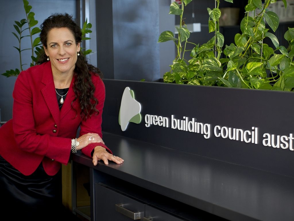 The CEO of the Green Building Council of Australia (GBCA), Romilly Madew, has been awarded the World Green Building Council (WorldGBC) Chairman's Award