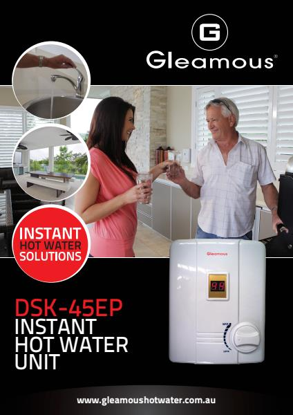 DSK-45EP INSTANT HOT WATER  UNIT BROCHURE