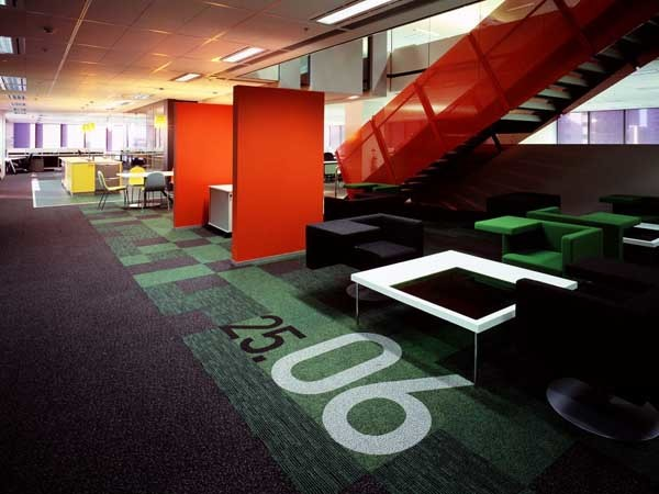 Ontera carpet at Westpac Place
