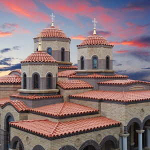 Design Delta Architects produce Australia's first Byzantine style monastery