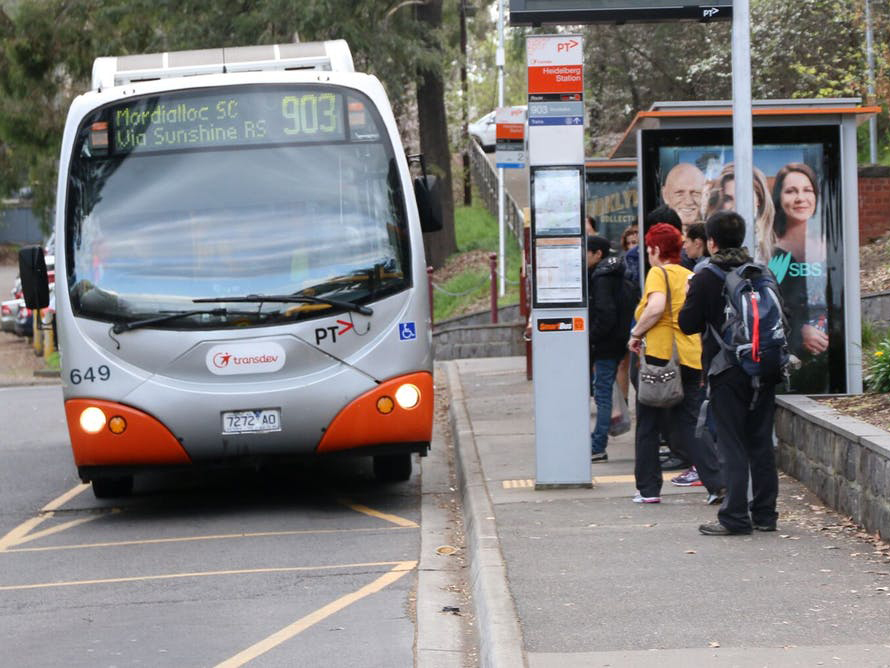 The government appears willing to roll over the contract with the operator of a third of Melbourne's buses despite poor performance. Image: Bus Association Victoria