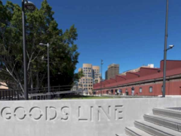 The Goods Line (Image: Stephen Pierce Photography)
