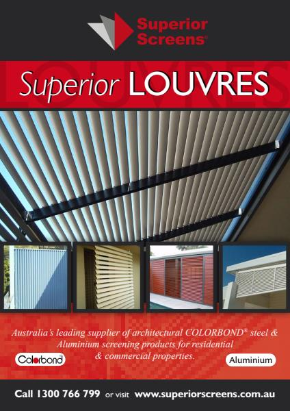 Louvre Brochure with Aluminium