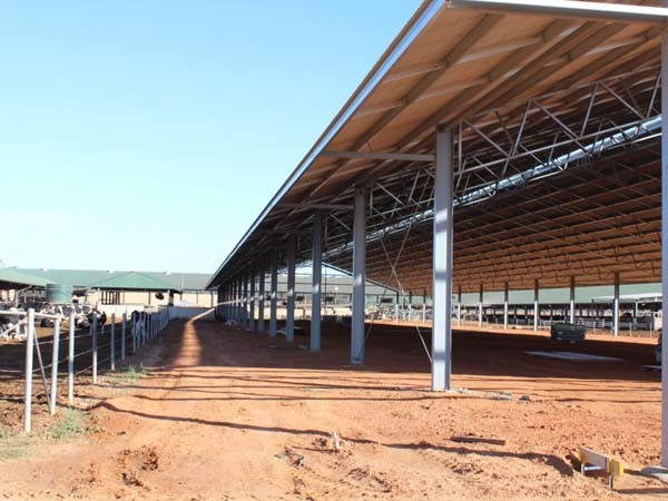 Livestock shelters and barns can be utilised throughout the year
