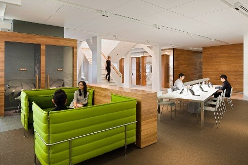 office interior design sydney. australian firm geyer was recently awarded best office interior singapore at the asia pacific property awards 2011 for completed american design sydney e