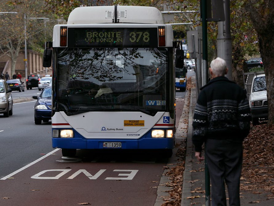 In Melbourne, Adelaide and Sydney, just over a third of dwellings are within 400 metres of a public transport stop with services every 30 minutes, but the proportions are much lower in other cities. Photography by Angela Brkic