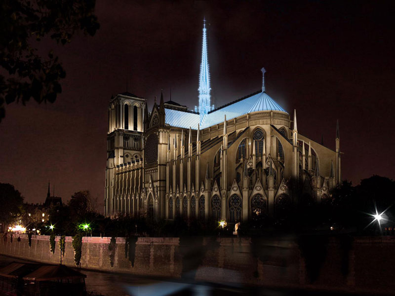 Notre Dame rebuild: The most interesting ideas | Architecture & Design