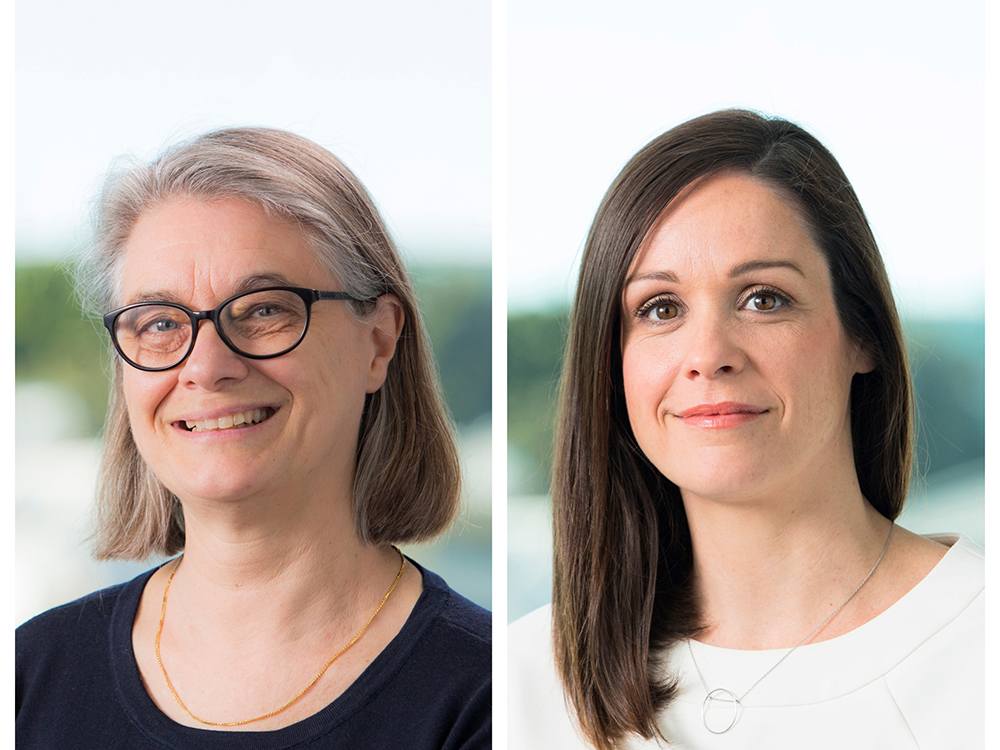 Hames Sharley has promoted Rachel Seal (left) to the position of director, while Jessika Hames (right) has been appointed as a senior associate. Image: Supplied
