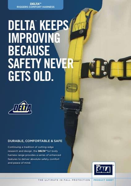 Capital Safety Delta riggers comfort harness brochure