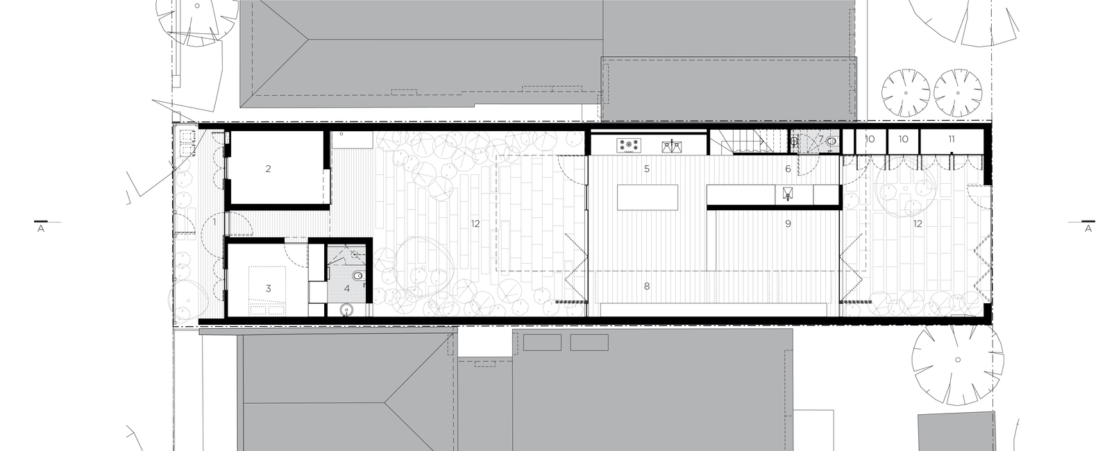 Fitzroy North House Plan