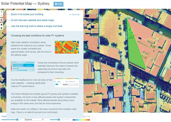 Australian team beat Google to solar potential tool | Architecture