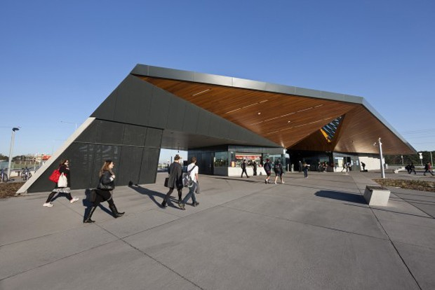 Six australian train stations that are also architectural for Cox architecture