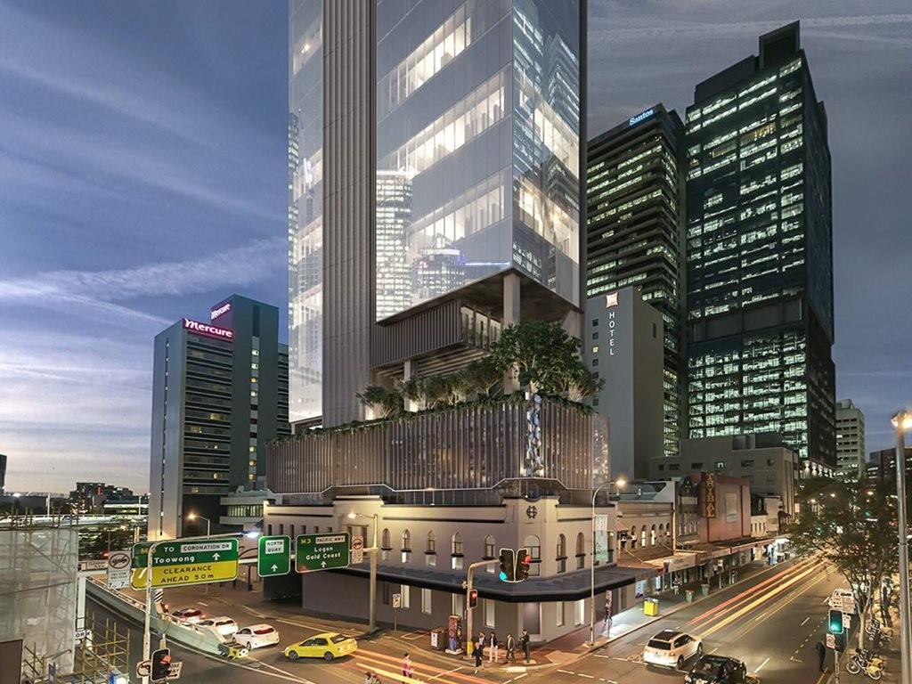 New Brisbane Tower To Combine Elements Of Heritage Hotel