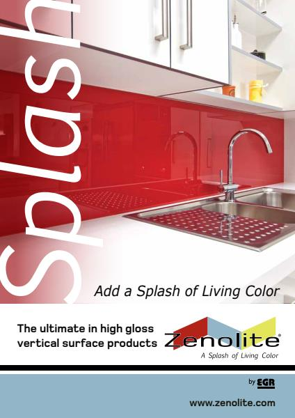 Zenolite® High Gloss Surface Products