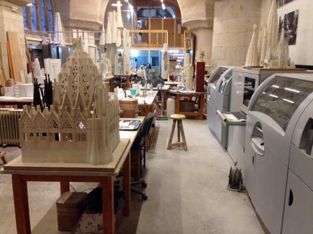 Antoni Gaudis Sagrada Familia has been using 3D Printing for 14