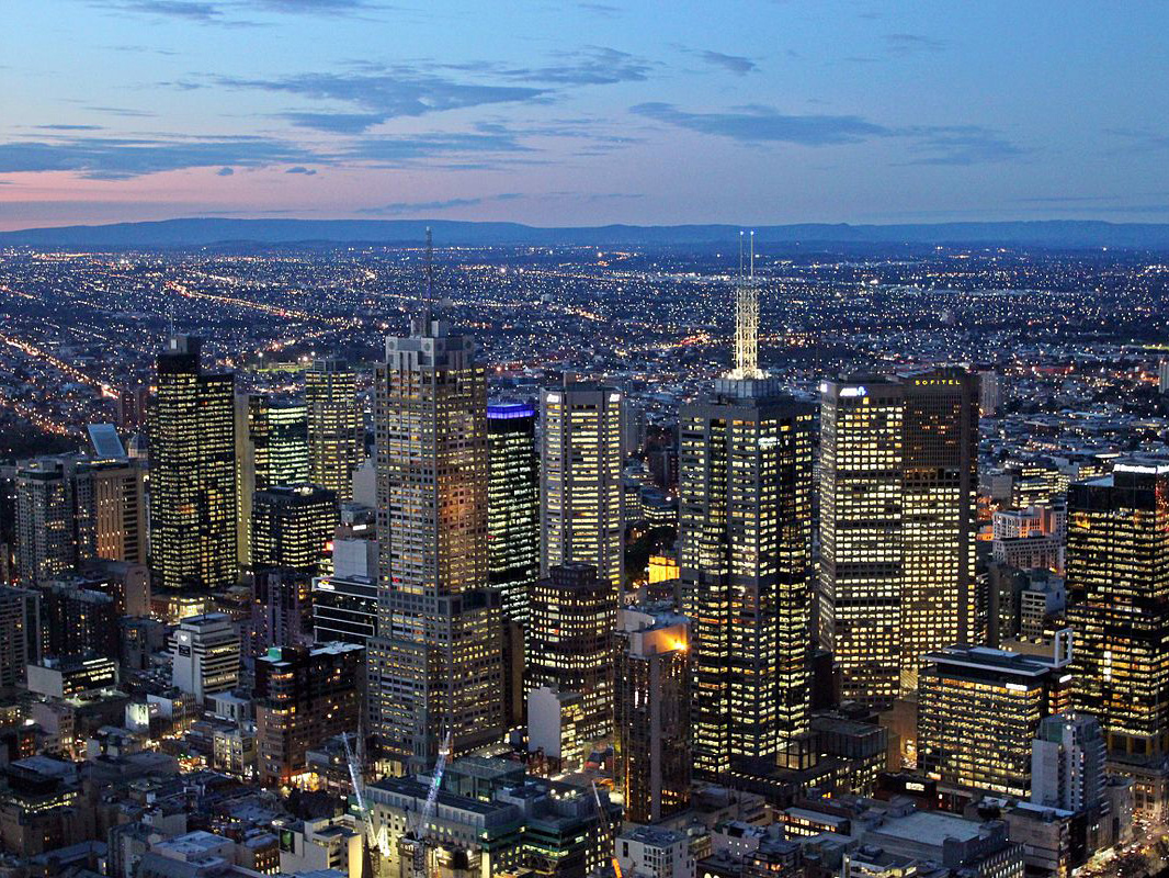 In a recent article by architectural firm Bates Smart, according to Plan Melbourne, the population is likely to hit 10 million by 2051, thus the need for 1.5 million jobs to accommodate the changing workforce. Image: Wikipedia