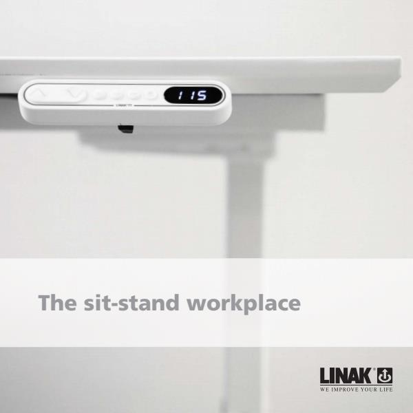 Linak Deskline sit-stand workplace brochure