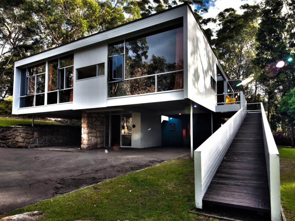 Rose Seidler House in the Sydney suburb of Wahroonga. Photography by Phyllis Wong