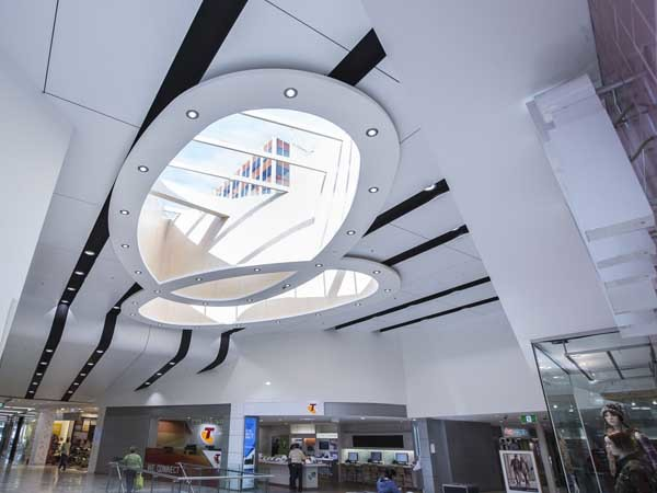 SUPALINE panels have been used extensively for the ceilings