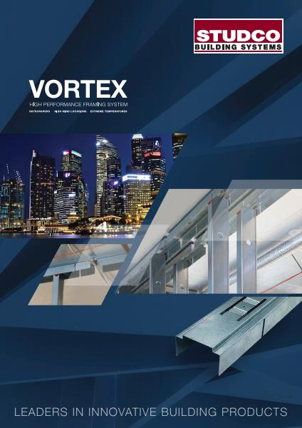 Studco Vortex product brochure