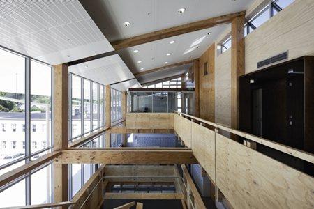 Timber Construction Makes Urban Comeback Architecture