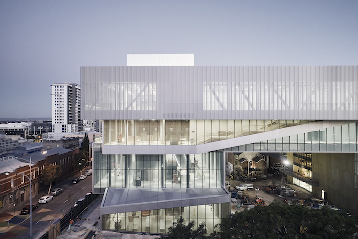 New Museum for Western Australia exterior