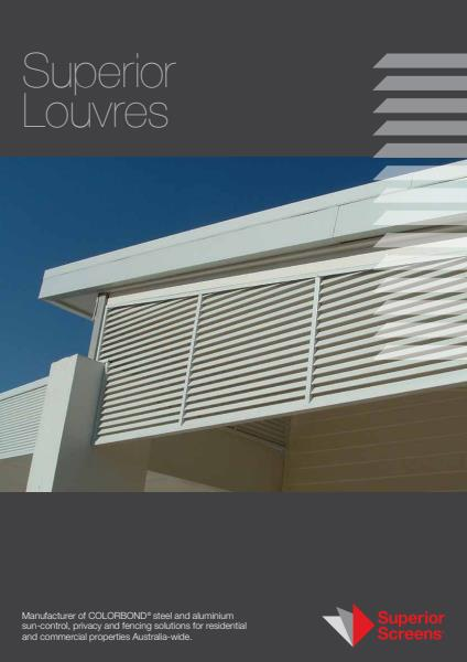 Superior Screen Lourves Brochure