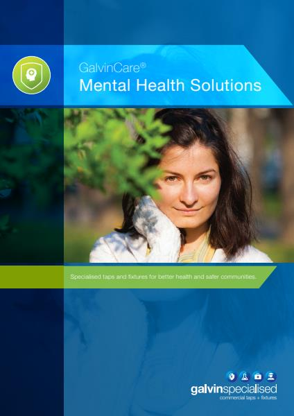 Galvin Specialised mental health whitepaper