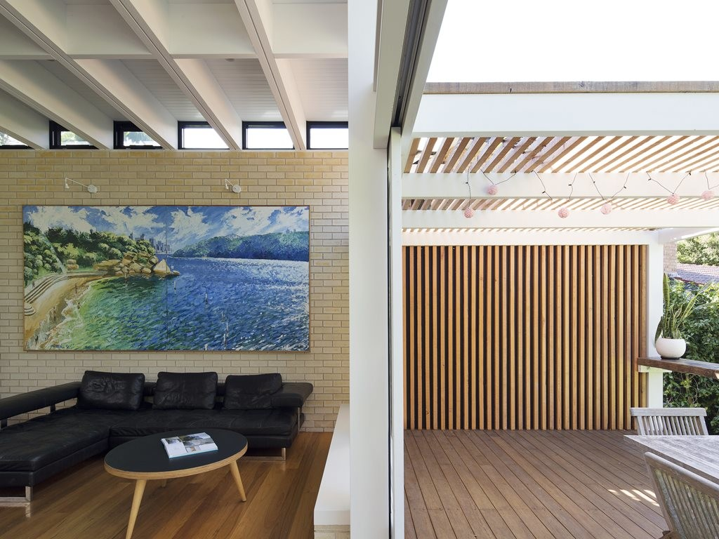 Mid Century Modernist Home In Sydney Receives New Living Spaces And Green  Roof