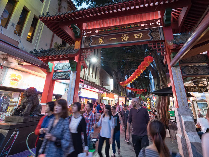 Since the ceremonial entrance arches were installed in 1980, Chinatown has undergone significant redevelopment. Image: TonyNg/Shutterstock.com
